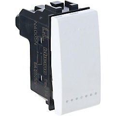 Interruptor 9/12 16A blanco Livinglight