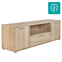 Rack de TV 51x155x39 cm roble