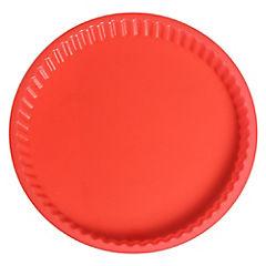 Molde pie D26 cm rojo