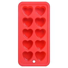 Cubetera silicona 10 hielos rojo