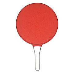 Tapa antisalpicaduras 51 cm silicona rojo