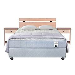 Box Americano Essence 1 2 plazas + Con Muebles y Textil
