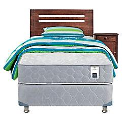 Box Americano Essence 3 1.5 plazas + Con Muebles y Textil