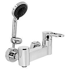 Monomando para ducha Plateado