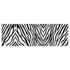 Listel Decorado Zebra Blanco 15 x 50 cm