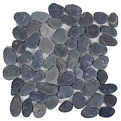 Malla Mosaico 30 x 30 cm Negro