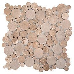 Malla Mosaico 30.5 x 30.5 cm Beige