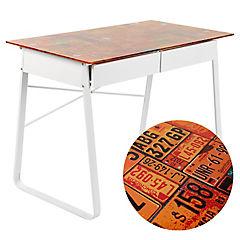Escritorio vidrio 105x58x76 cm patentes