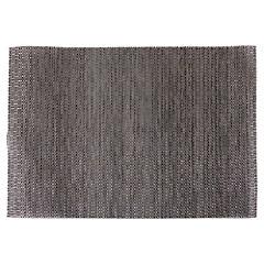 Individual 45x30 cm pvc dora-negro