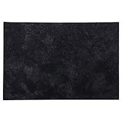 Individual 30x43 cm PVC negro