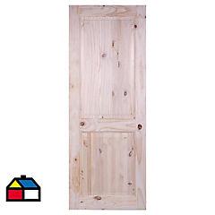 Puerta Italia radiata nudo 75 x 200 cm