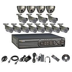 Kit  DVR 16 Canales 16 Cámaras DD2TB