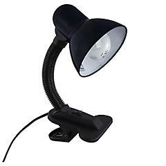 Lámpara Escritorio  Pinza negra