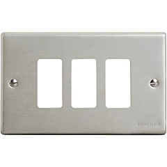 Placa triple aluminio, magic