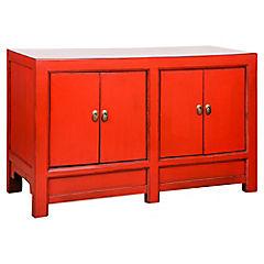Buffet 120x45x71 Madera Rojo