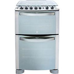 Cocina a gas 4 quemadores 103 litros plateado
