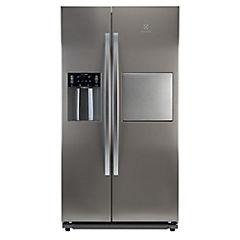 Refrigerador side by side 679 litros silver