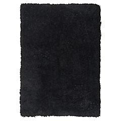 Alfombra Shaggy Soft 60x90 cm negro
