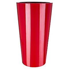 Macetero Tuit c/Contenedor 40 x 40 x 75 cm Rojo