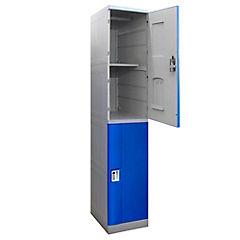 Locker plástico ABS 2 puertas con llave