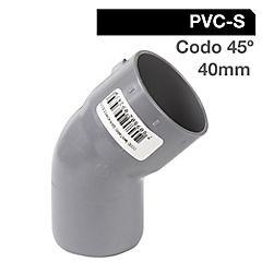 40mm  Cementar Codo  PVC sanitario