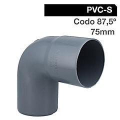 75mm Cementar Codo  PVC sanitario