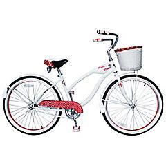 Bicicleta Paseo Retro Minnie 26 Bl