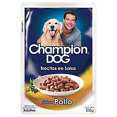 Pouch Champion Dog Pollo 100 gr