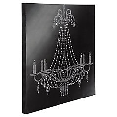 Canvas Lamp Velas Diam 50 x 50 cm