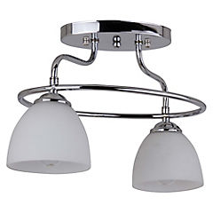 Lámpara colgante 2 luces 60 W