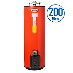 Termo Intelligent 260 litros gas natural