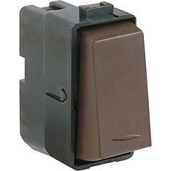 Interruptor pulsador 16 A Café