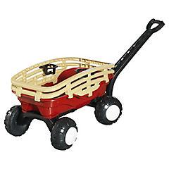 Carro con manilla de arrastre para niños