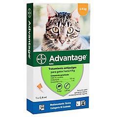 Pipeta Advantage para Gato 4 kg