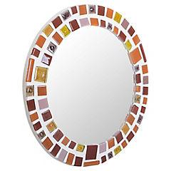 Espejo Redondo Mosaico 32Cm