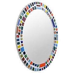 Espejo Redondo Mosaico 46Cm