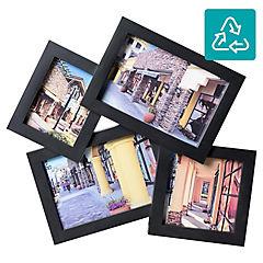 Marco Foto 2 x 9 x 14 + 7 x 9 + 9 x 9 Negro