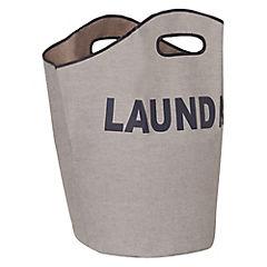 Bolsa de lavandería 60x53x33 cm Gris