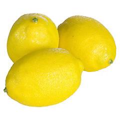 Limón Decorativo Malla 3 Unidades