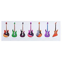 Canvas Guitarras 30 x 90 cm