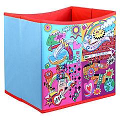 Caja Tela Pop Art 27 x 27 x 28