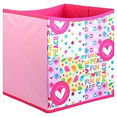 Caja Tela Love/Peace 27 x 27 x 28.
