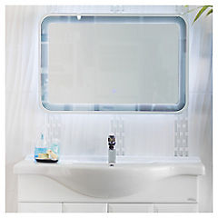 Espejo con luz led 90 x 60 cm