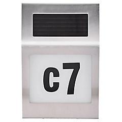 Número para Casa Solar 3-4 n
