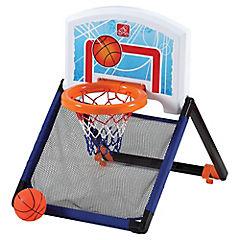 Arco de basquetbol portatil.
