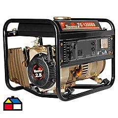 Generador eléctrico a gasolina 1050 W 24 hr