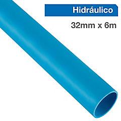 32 mm x 6 mt Tubo Pvc presión