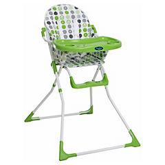 Silla de comer para bebé 100x60x66 cm verde