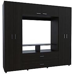 Closet - Rack 6 Puertas - 2 Cajones Tv46