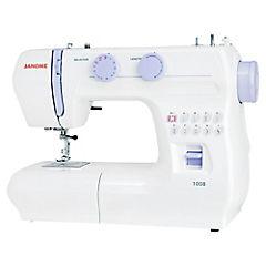 Máquina de coser eléctrica blanco